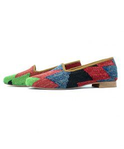 We make Original Kilim Shoes Loafers from Turkey